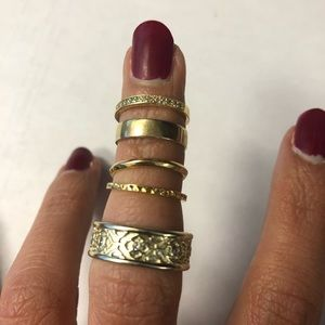 Kendra Scott midi rings